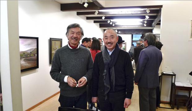 写真: 池田さんとディレクター 上野