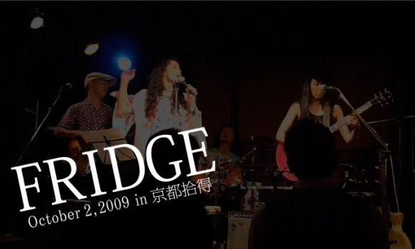 FRIDGE LIVE IN 拾得
