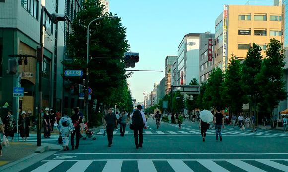祇園祭の京都より