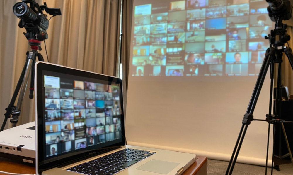 オンライン講演会の配信サポート業務